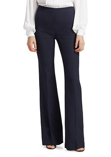 Michael Kors Stretch-Wool Flare Pants
