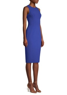 Michael Kors Stretch Wool Sheath Dress