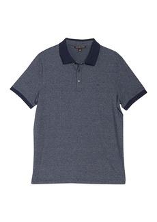 Michael Kors Stripe Jersey Polo