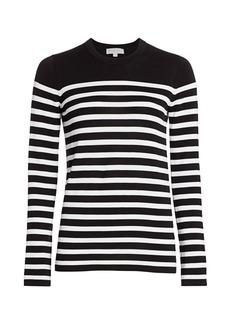 Michael Kors Striped Cotton Sweater