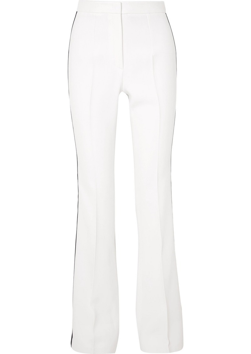 Michael Kors Striped Crepe Flared Pants