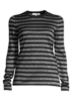 Michael Kors Striped Long-Sleeve Shirt