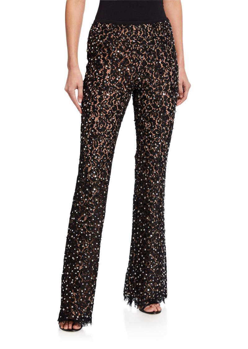 Michael Kors Studded Flare Pants
