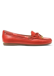 Michael Kors Sutton Leather Moccasin Loafers