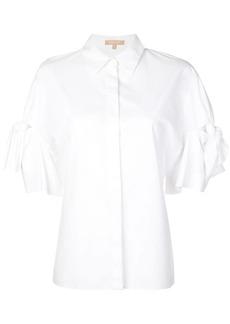 Michael Kors tie sleeve shirt