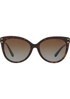 Michael Kors tinted cat eye sunglasses