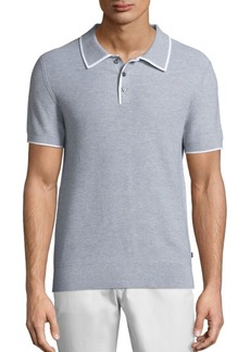 Michael Kors Tuck Stitched Polo