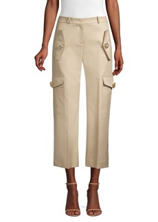 Michael Kors Twill Jewel Cargo Pants
