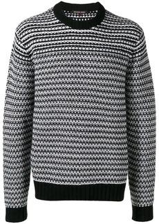 Michael Kors two-tone knit jumper