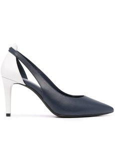 Michael Kors two-tone leather pumps