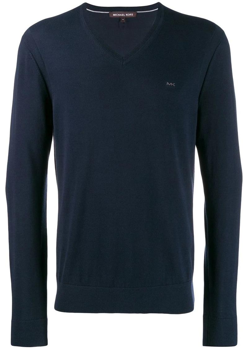 Michael Kors v-neck sweatshirt
