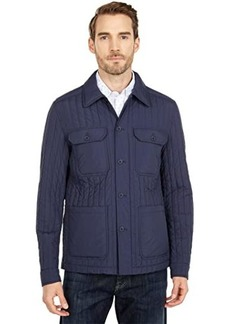 Michael Kors Vertical Quilted Shift Jacket