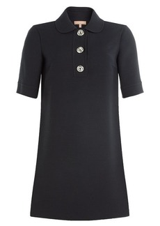 Michael Kors Virgin Wool Mini Dress
