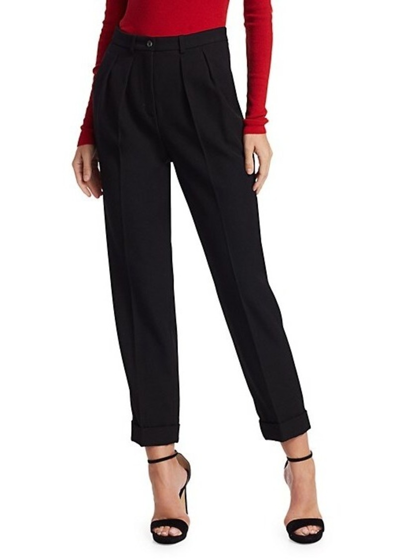 Michael Kors Virgin Wool Tapered Trousers