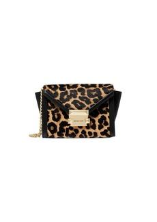 MICHAEL Michael Kors Extra-Small Whitney Leopard-Print Calf Hair & Leather Bag