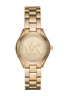 Michael Kors Women's Mini Slim Runway Bracelet Watch, 39mm