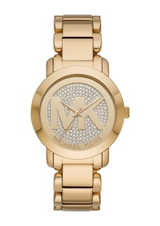 Michael Kors Women's Runway Pave Bracelet Watch, 38mm
