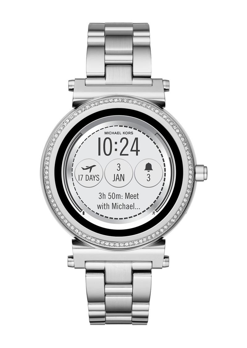 MICHAEL Michael Kors Women's Sofie Smart Bracelet Watch, 42mm