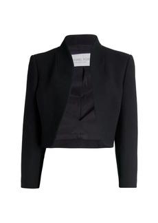 Michael Kors Wool-Blend Bolero Jacket