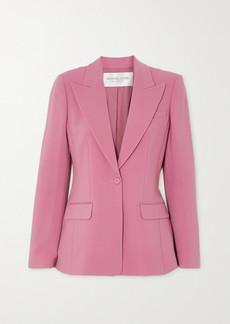 Michael Kors Wool-blend Crepe Blazer