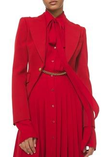Michael Kors Wool Gabardine Jacket