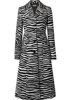 Michael Kors Wool-jacquard Coat