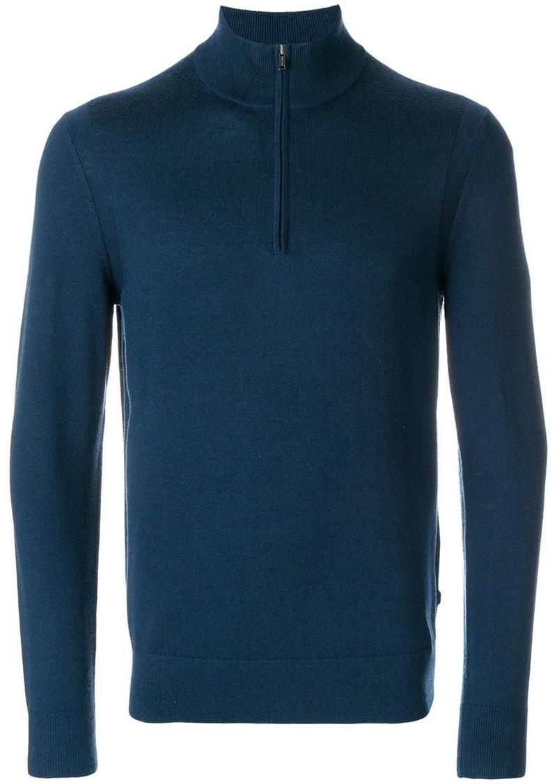 Michael Kors zip collar jumper