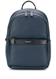 Michael Kors zip pocket backpack