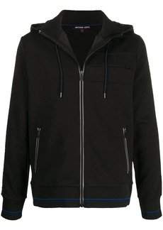 Michael Kors zip-up hooded jacket