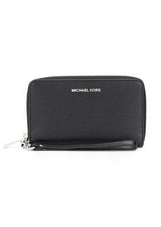 Michael Kors zip-up wallet