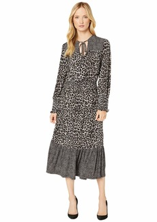 MICHAEL Michael Kors 2 Print Ellipse Dress