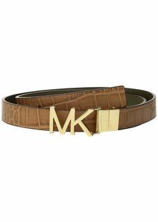 "MICHAEL Michael Kors 25 mm (1"") Exotic Reversible Belt"