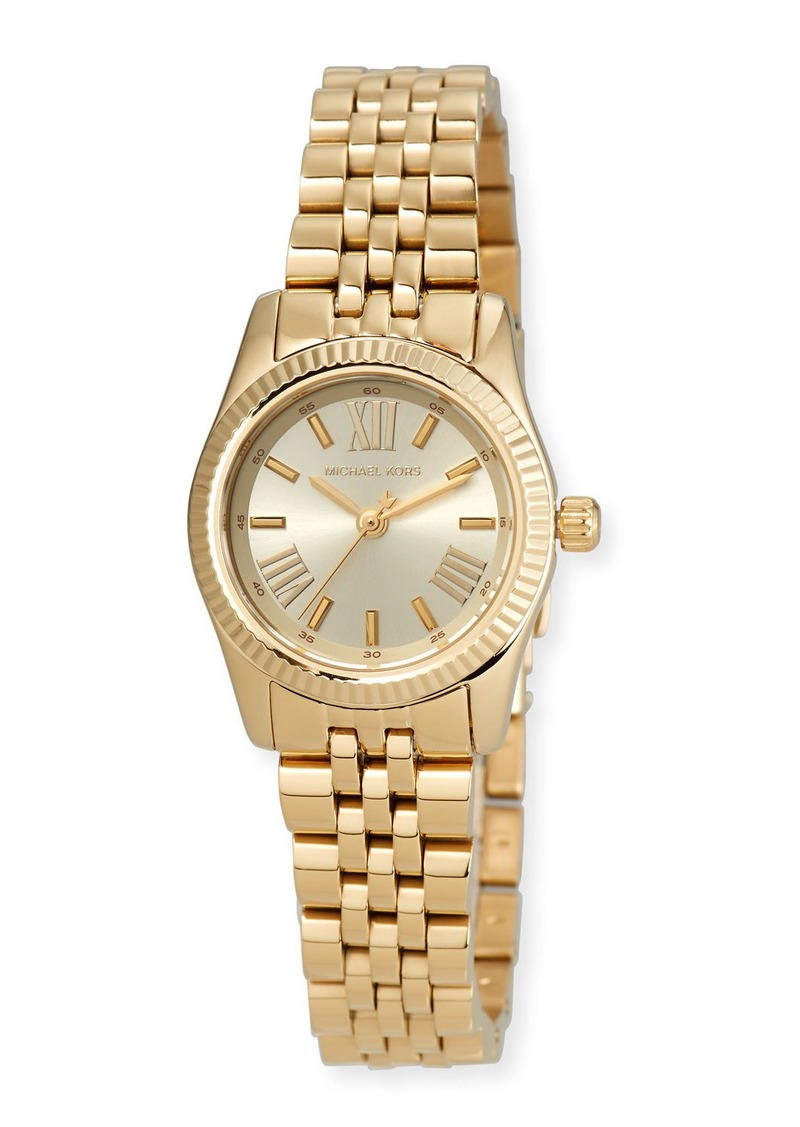 MICHAEL Michael Kors 26mm Petite Lexington Watch with Bracelet  Gold