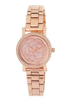 MICHAEL Michael Kors 28mm Petite Norie Bracelet Watch  Rose