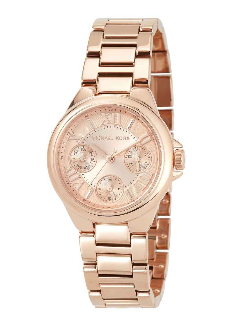 MICHAEL Michael Kors 33mm Mini Bailey Chronograph Bracelet Watch  Rose Golden