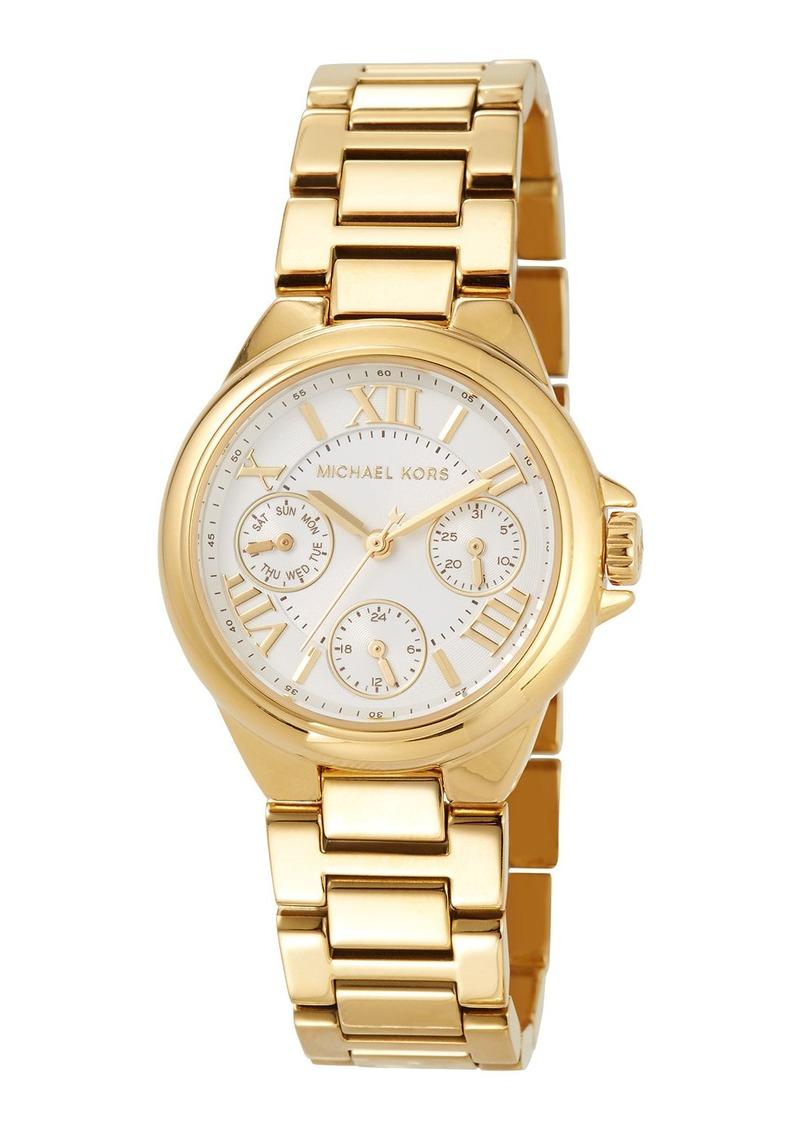 MICHAEL Michael Kors 33mm Mini Bailey Chronograph Bracelet Watch  Golden