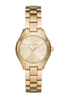 MICHAEL Michael Kors 33mm Slim Runway Bracelet Watch  Golden