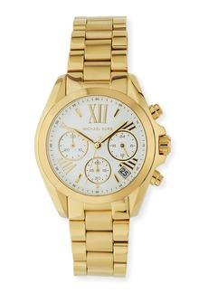 MICHAEL Michael Kors 36mm Bradshaw Chronograph Watch w/ Bracelet Strap  Gold