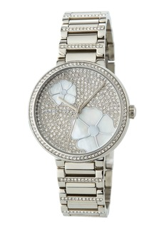 MICHAEL Michael Kors 36mm Courtney Flower & Crystal Bracelet Watch