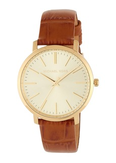MICHAEL Michael Kors 38mm Jaryn Leather Watch