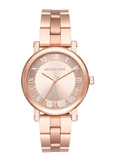 MICHAEL Michael Kors 38mm Noire Bracelet Watch  Rose Golden