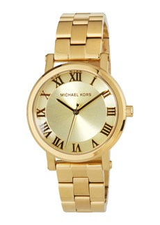 MICHAEL Michael Kors 38mm Yellow-Golden Stainless Steel Watch