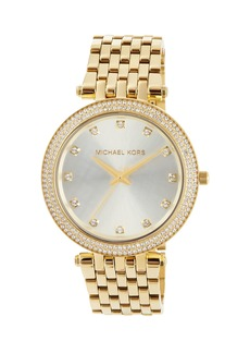 MICHAEL Michael Kors 39mm Glitz Bracelet Watch  Golden