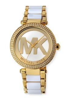 MICHAEL Michael Kors 39mm Parker Glitz Bracelet Watch