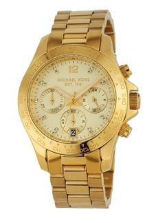 MICHAEL Michael Kors 40mm Layton Chronograph Watch  Golden