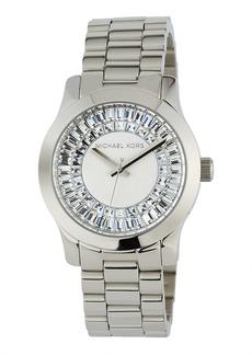 MICHAEL Michael Kors 40mm Runway Bracelet Watch w/ Baguettes