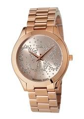 MICHAEL Michael Kors 42mm Crystal Bracelet Watch  Rose Golden