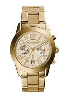 MICHAEL Michael Kors 42mm Mercer Chronograph Bracelet Watch  Golden