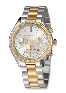 MICHAEL Michael Kors 42mm Slim Runway Glitz Bracelet Watch  Multi
