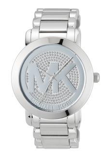 MICHAEL Michael Kors 45mm Pavé Steel Bracelet Watch